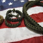 paracord-bracelet-on-flag