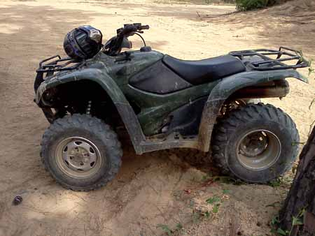 Honda 420 Rancher ATV