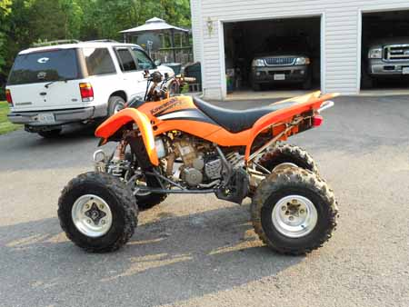 KFX 400 Sport Four Wheeler